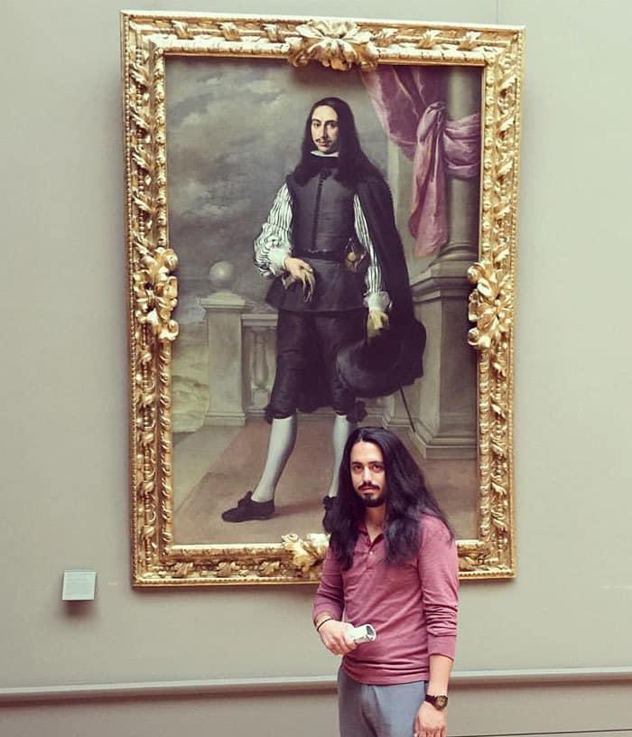 Нашел Мой Доппельгангер в Лувре. Íñigo Melchor De Velasco